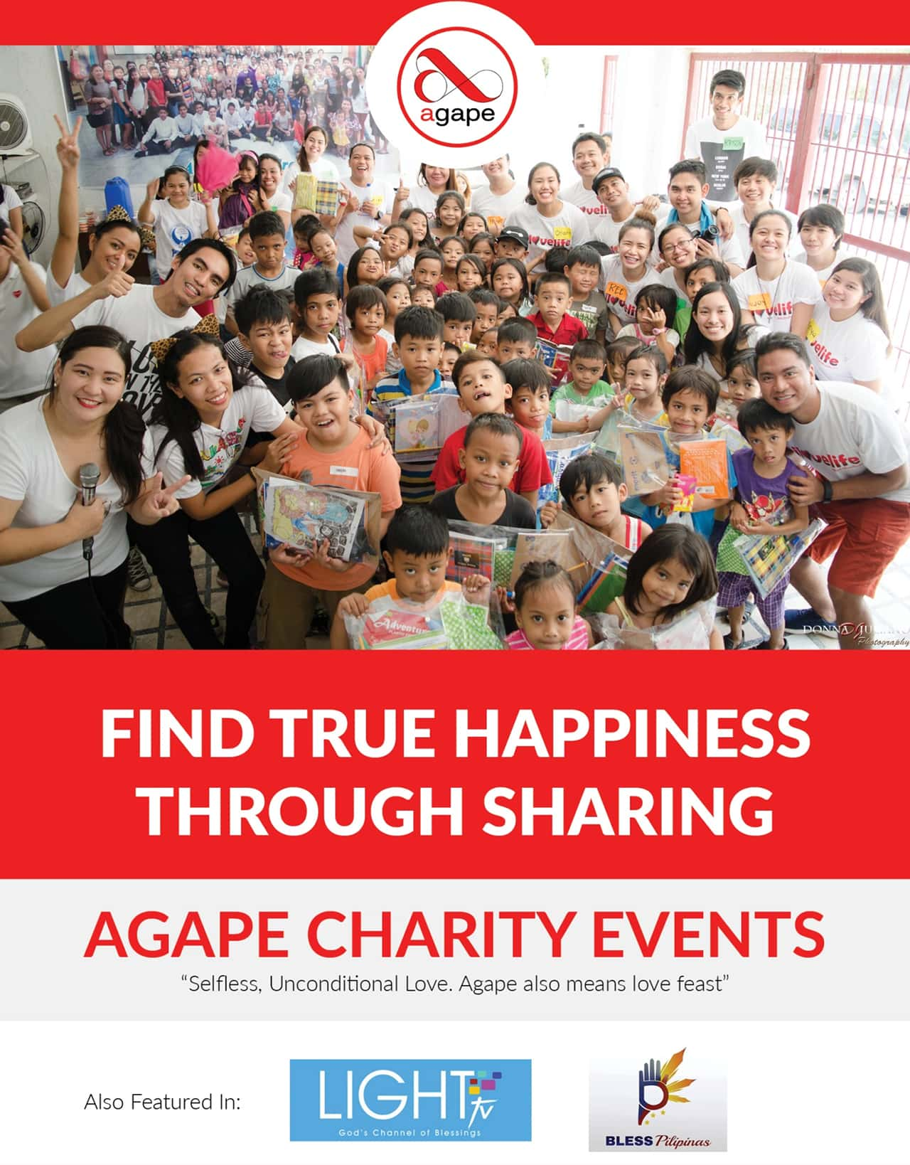 Donate to AGAPE